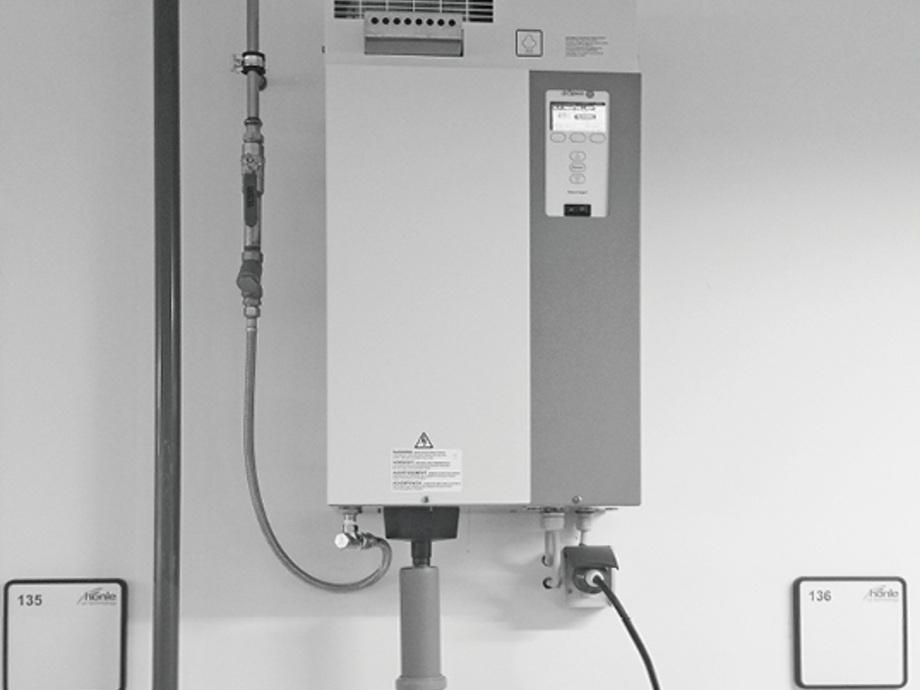 Elektrostatische Aufladung Ableiten